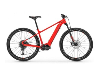 Hardtail e-bike with a Shimano e7000 central motor and Sram GX deraileur.