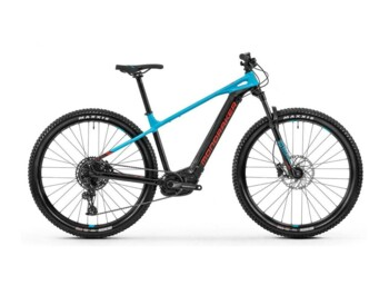 Hardtail e-bike with a Bosch Performance CX central motor and Sram SX deraileur.