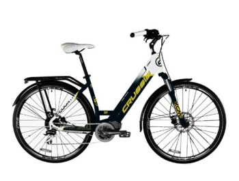An urban e-bike with a Bafang MaxDrive motor providing maximum power of 520W and torque of up to 80Nm.