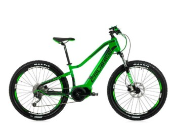 A junior e-MTB with a Bafang MaxDrive motor providing peak power of 520W and torque of up to 80Nm.