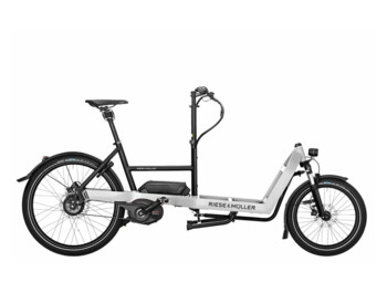 A very compact cargo e-bike with a Bosch Performance Line CX motor.