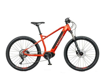 An e-MTB with a Bafang MaxDrive motor, 520W of rated power and torque up to 80Nm.