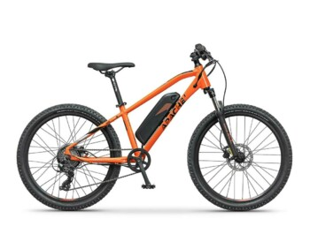 Junior e-bike with a Silent Plus 250W rear motor and a frame battery with a capacity of 470Wh.