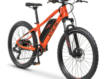 Junior e-bike with rear motor Silent Plus 250W and a frame battery with a capacity of 470 Wh.