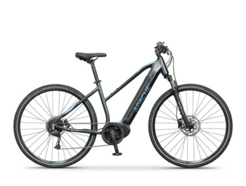 Cross e-bike with a Bafang MaxDrive motor, 520W of rated power and a torque up to 80Nm.