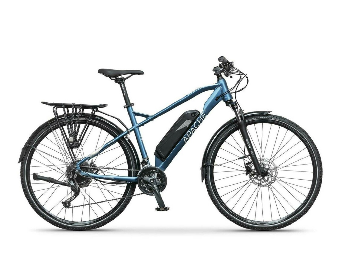 "APACHE Matto Tour E4 28"" 2020 - Cross e-bike - Rear drive Silent Plus"