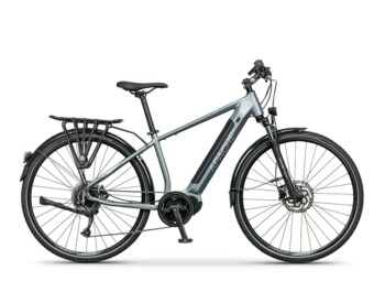 Cross e-bike with a Bafang MaxDrive motor, 520W of rated power and torque up to 80Nm.