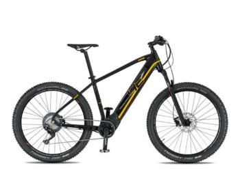 An e-MTB with a Brose motor , 500W of rated power and a torque up to 90 Nm.