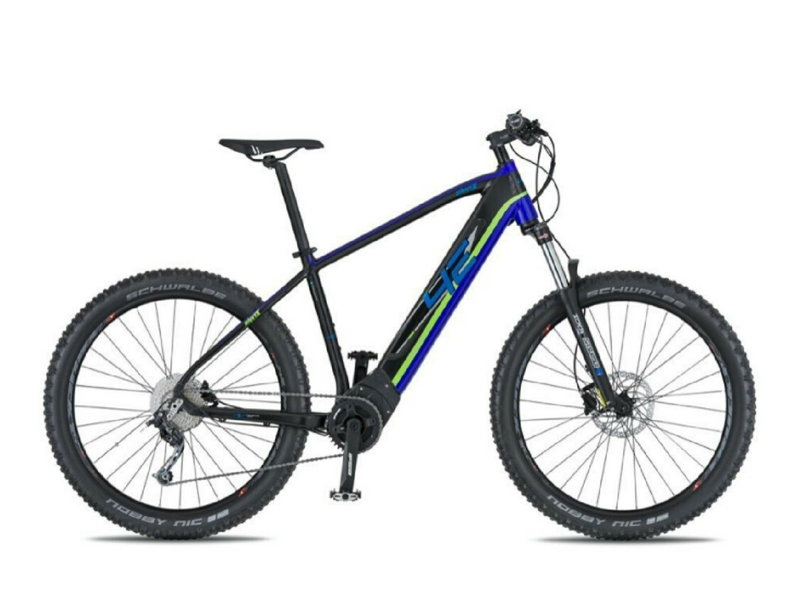 Mountain ebike with motor Brose S 4EVER ENNYX 3 29""