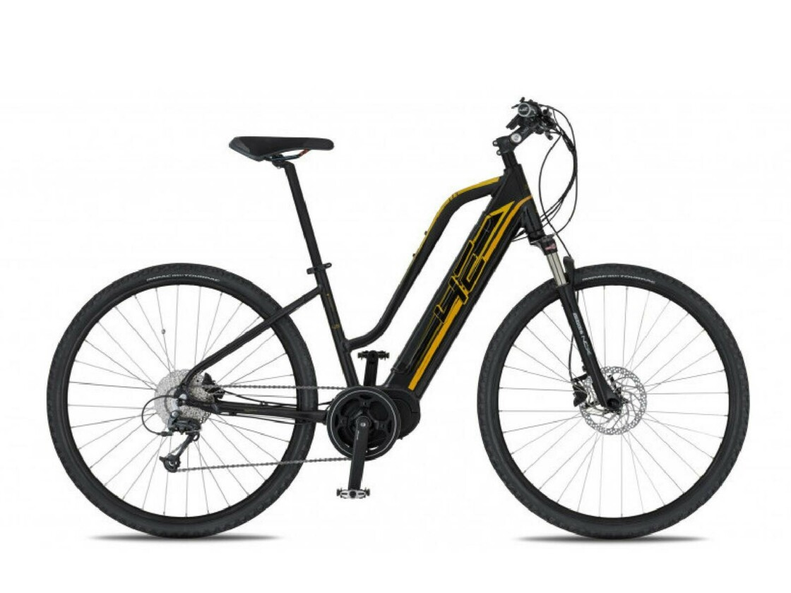 4EVER Marianne AC - Ladies Mountain eBike - Black / Gold