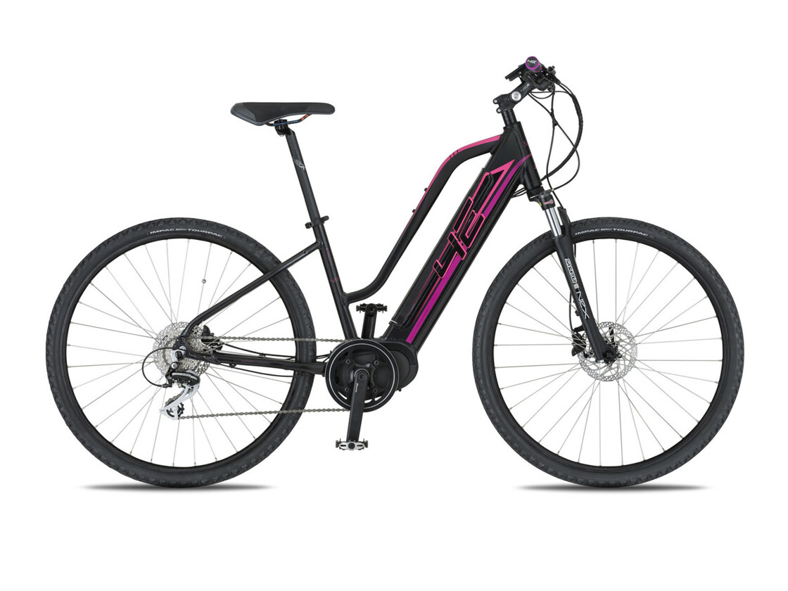 4EVER Marianne AL - Mountain eBike - Black/Pink color