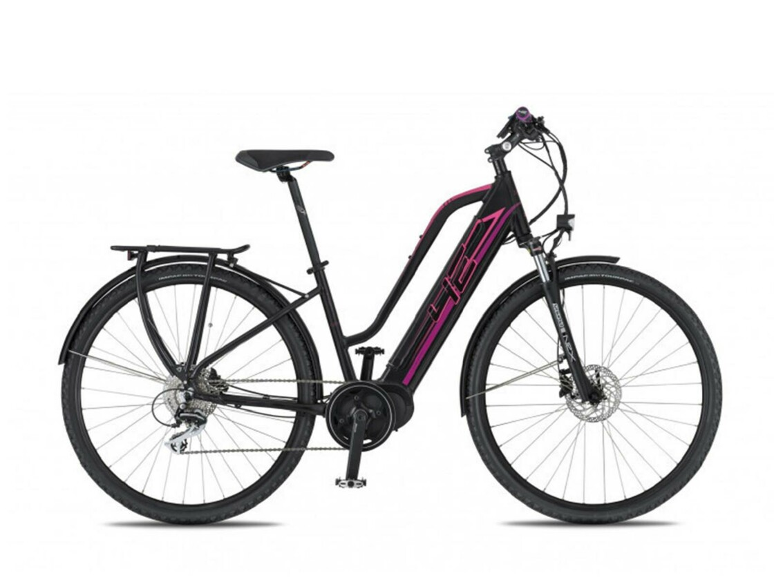 4EVER Marianne AC-T - Mountain eBike - Black/Pink color