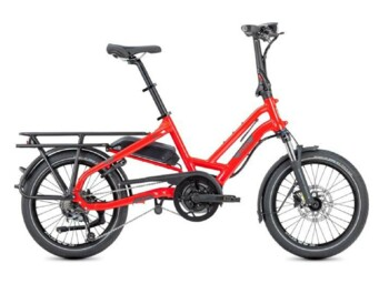 Semi-folding electric bike with Bosch Active Line Plus motor.