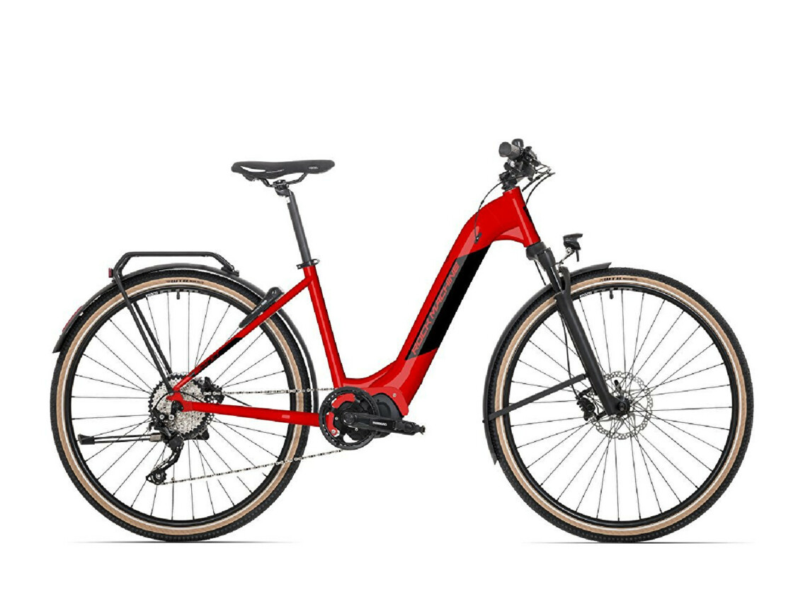 E-bike ROCK MACHINE Cross INT e400 STePS touring