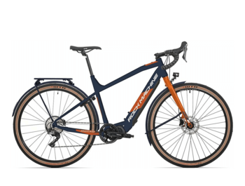 A new electric grave e-bike for exploring the world. Shimano Steps E5000 drive.