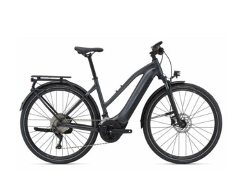Travel e-bike with a powerful SyncDrive Sport central motor and an integrated EnergyPak Smart battery with a power of 500 Wh. The Giant RideControl control unit, sprung fork and reliable disc brakes ensure maximum driving reliability.