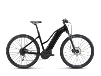 The most affordable trekking e-bike from Giant. The Roam E+ STA is equipped with Yamaha's new SyncDrive Core engine with Smart Assist mode, a 400 Wh EnergyPak battery and the Giant RideControl One ANT + control unit.