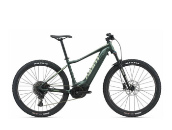 Fathom E+ 1 mountain e-bike with a powerful Yamaha SyncDrive Sport central motor, with Smart Assist mode and an EnergyPak Smart 500 Wh battery, which is housed in the lower frame tube. Fathom models are one of the most popular mountain e-bikes.