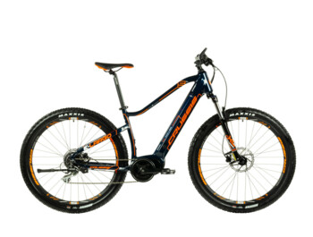 Modern men's mountain e-bike for rides of all kinds equipped with a powerful Bafang Max Drive central motor. Together with the integrated battery, modern geometry and Shimano hydraulic brakes ensure excellent handling and maximum comfort on the track.