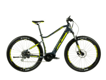 "Powerful women's mountain e-bike for a versatile ride. The combination of the powerful Bafang Max Drive central engine, fully integrated batteries, 29"" wheels, sprung forks and reliable hydraulic brakes make the e-Fionna 5.6 the ideal partner for any ride."