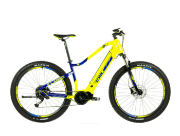 Modern men's mountain e-bike with a high-quality Bafang Max Drive engine, a fully integrated 522 Wh battery, high-quality Shimano brakes and a Suntour suspension fork. e-Largo 7.6 was precisely developed for trips of all kinds.
