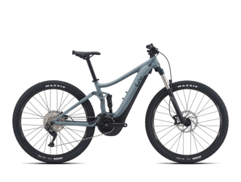 Full-suspension women's e-bike with a high-quality frame, reliable Yamaha SyncDrive Sport engine, integrated EnergyPak Smart battery with a capacity of 500 Wh and great Giant Hybrid Cycling technology.