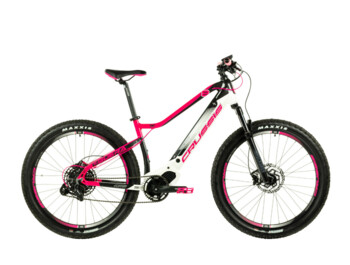 "Women's e-bike with a nice design. Made with an emphasis on women's needs. Thanks to its modern geometry, OLI central engine, powerful 630 Wh battery and 27.5"" wheels, the e-bike is perfectly controlled and is extremely reliable."