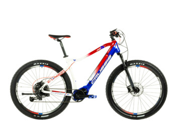 Men's mountain electric bike with a range of up to 150 km. The Bafang M500 center engine, powerful 630 Wh battery, Shimano disc brakes and SRAM SX Eagle gearshift ensure reliable and excellent handling while driving.