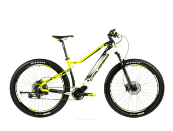 Mountain e-bike with trampled equipment in the form of a central OLI SPORT engine, Samsung 720 Wh battery, Rockshox suspension forks and other reliable components that will ensure maximum comfort on your journeys on the plain and in the hills.