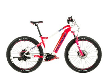 New for 2021 is the top women's MTB e-Guera 10.6 electric bike. Equipped with high-quality and reliable Bosch components, it will take you to places you have never dared before.