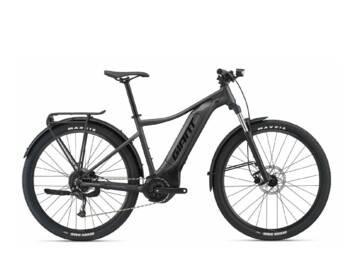 Reliable mountain e-bike for a nice price. Talon E + with Yamaha's new lightweight but high-quality SyncDrive Core engine, 500 Wh EnergyPak lithium battery and Giant RideControl One ANT + control unit.