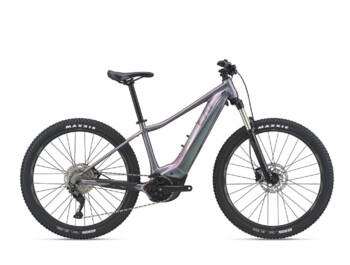 Women's mountain e-bike with a powerful Yamaha SyncDrive Sport engine and a new EnergyPak Smart battery located at the bottom of the frame. The e-bike also now offers larger and more comfortable wheels. The model VALL E +  will take you into a world of unlimited cycling experiences.