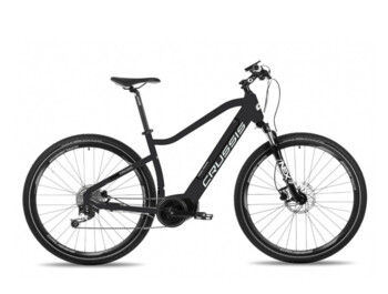 Well-equipped cross electric bike with OLI central motor, powerful 630 Wh battery, Shimano brakes, ROCKSHOX fork and more...