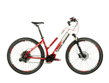 Cross e-bike designed for all kinds of trips. With geometry ensuring a comfortable ride and great stability.