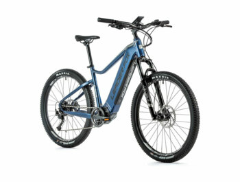 "Mountain e-bike with a great Bafang M500 engine, integrated 720 Wh battery, modern sports design, RST suspension fork, disc brakes and 27.5"" wheels."