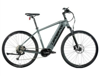 Cross-country e-bike with a light aluminum frame and a brisk sporty design. The Exeter is also equipped with a Bafang M300 central motor, a 540 Wh battery, an LCD display and a fast charger with a charging current of 3A.