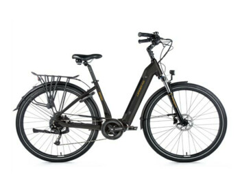 "City e-bike with a powerful Bafang motor and a fully integrated battery. Another plus is the fast charger, which significantly shortens the charging time. The e-bike is equipped with a sprung front fork and 28"" wheels."