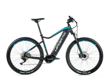 Mountain e-bike with a powerful Bafang M300 motor and an integrated 540 Wh frame battery. One of the most popular e-bikes from the Leader Fox brand.