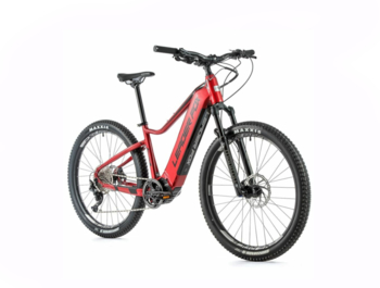 Mountain electric bike with a central Bafang M500 engine, which excels in very smooth running. A novelty is the integrated 720 Wh battery, which ensures a long range and also a comfortable ride with a sprung fork.