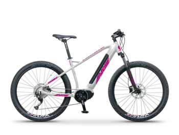 Yamka MX1 e-bike with integrated battery and upstandard load capacity of 140 kg. 