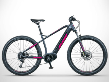 "The Yamka MX3 e-bike with 27.5"" wheels is intended for those who spend the whole day cycling."