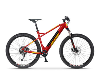 "Yamka E5 e-bike with 27.5"" wheels for those who appreciate the comfort of mountain tires on their trips. 