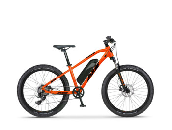 Children's e-bike Tate 24 with Apache Power Silent engine and 468 Wh battery. 