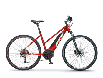 The Matta Bosch Active Plus e-bike is designed for tourist riders.