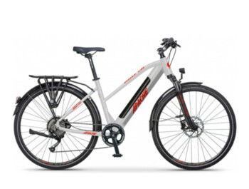 Travel electric bike Matta Tour E5, with which you do not have to be afraid to go on a field or forest road.