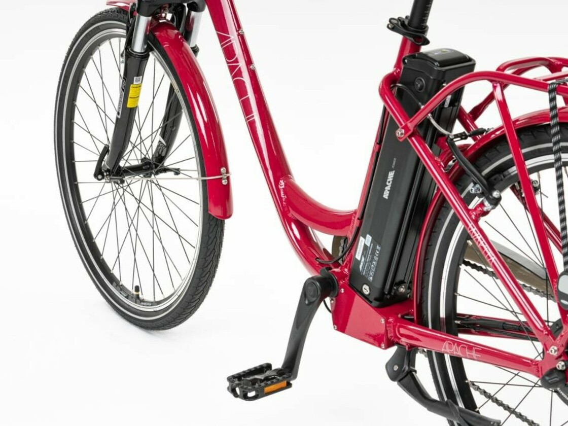 E-bike APACHE Wakita City 26 - frame, LG battery