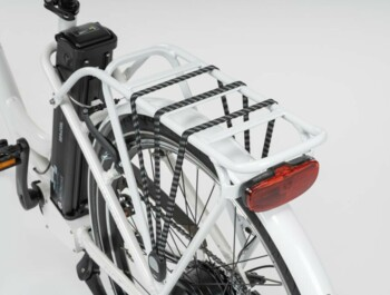 E-bike APACHE Wakita City 26 - carrier, rear light