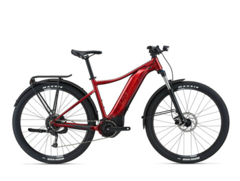 "Women's mountain e-bike with very powerful and reliable equipment for a nice price. Tempt E+ EX is equipped with a Yamaha SyncDrive Core engine with SmartAssist driving mode and a 500 Wh EnergyPak battery. Larger frames are built on 29"" wheel."