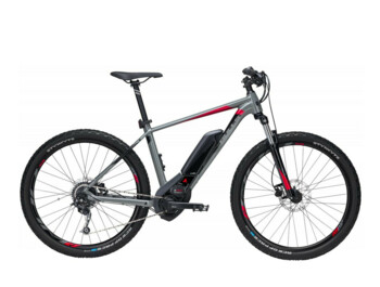 BULLS SIX50 E1 e-bike with a first-class BOSCH Performance Line motor and an optimally stored battery.