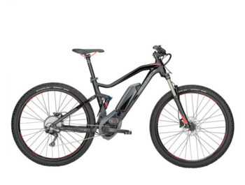 BULLS TWENTY9 TR1 presents as a fully sprung mountain e-bike with a great BOSCH Performance Line motor, 500 Wh batteries and a unique Monkey Link magnetic system.